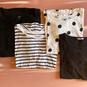 T-Shirt Bundle LOFT Gap Size L